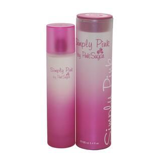 Aquolina Pink Sugar Simply Pink Women's 3.4-ounce Eau de Toilette Spray|https://ak1.ostkcdn.com/images/products/9006607/P16209751.jpg?impolicy=medium