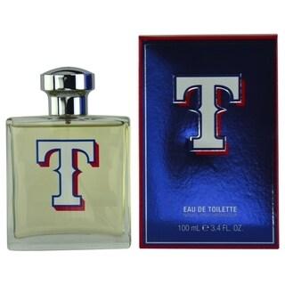 Texas Rangers Men's 3.4-ounce Eau de Toilette Spray