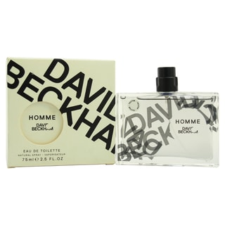 David Beckham Homme Men's 2.5-ounce Eau de Toilette Spray (Tester)