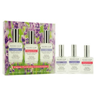 Demeter Fresh Flowers Collection Women's 3-piece Gift Set