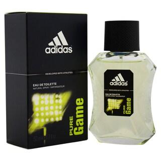 Adidas Pure Game Men's 1.7-ounce Eau de Toilette Spray
