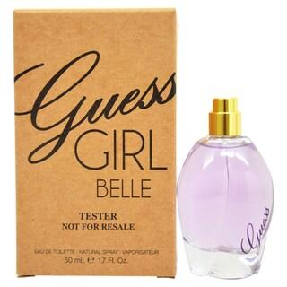 Guess Girl Belle Women's 1.7-ounce Eau de Toilette Spray (Tester)