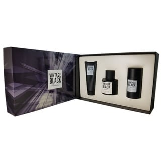 Kenneth Cole Vintage Black Men's 3-piece Gift Set