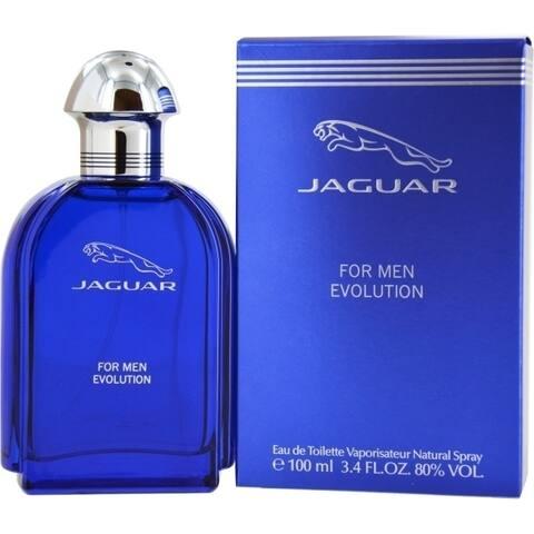 Jaguar Evolution Men's 3.4-ounce Eau de Toilette Spray