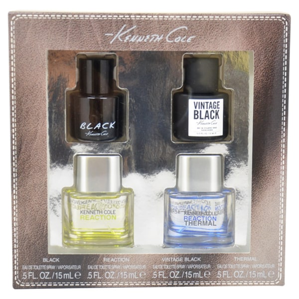 Kenneth Cole Variety Set for Men 4-piece Mini Gift Set