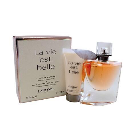 Lancome La Vie Est Belle Women's 2-piece Gift Set