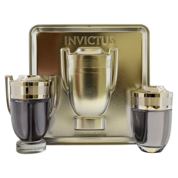 Shop Paco Rabanne Invictus Mens 2 Piece Gift Set Free Shipping
