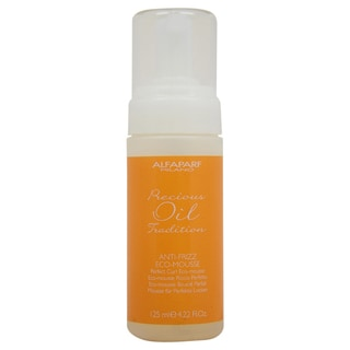 Precious Oil Tradition Anti-frizz Eco-Mousse by ALFAPARF for Unisex - 4.22 oz Mousse