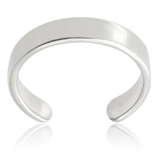 Journee Collection Sterling Silver Toe Ring