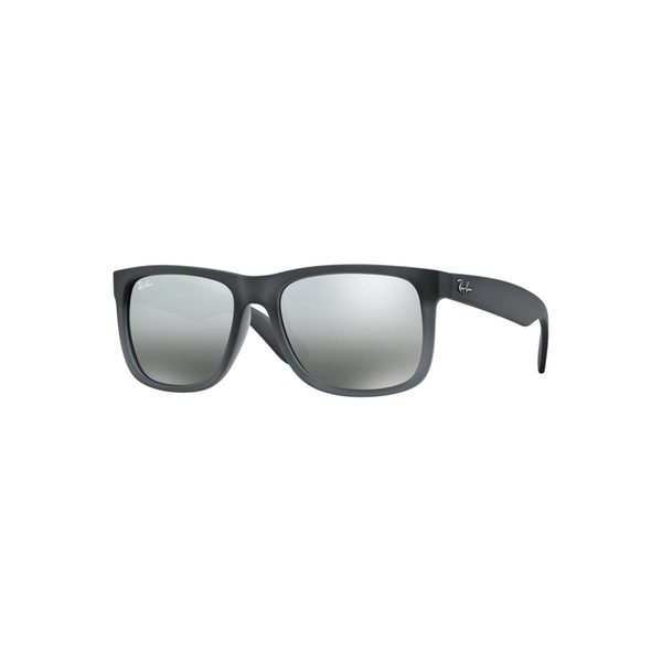 Shop Ray Ban Justin Classic Rb 4165 Unisex Grey Frame