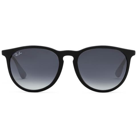 d117efb5dbc1 Ray-Ban Erika Classic RB 4171 Women's Black Frame Grey Gradient Lens  Sunglasses