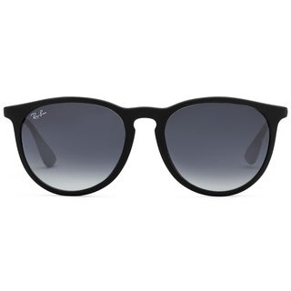 ray ban outlet zone  ray ban erika classic rb 4171 women's black frame grey gradient lens sunglasses