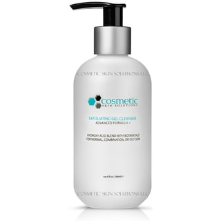Cosmetic Skin Solutions 8-ounce Pore-Refining and Exfoliating Gel Cleanser