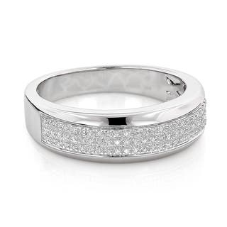 Sterling Silver 1/5ct TDW Men's Pave Diamond Band https://ak1.ostkcdn.com/images/products/9007891/Sterling-Silver-1-5ct-TDW-Mens-Pave-Diamond-Wedding-Band-H-I-SI1-SI2-P16210806.jpg?impolicy=medium
