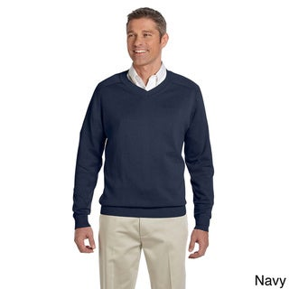 Link to Men's Cotton Long-sleeve V-neck Sweater Similar Items in Shirts