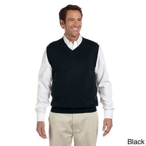 Men's Lightweight Cotton V-neck Vest