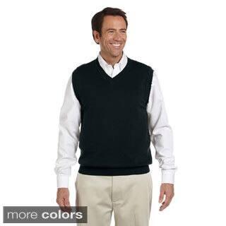 Men's Lightweight Cotton V-neck Vest|https://ak1.ostkcdn.com/images/products/9007904/Mens-Lightweight-Cotton-V-neck-Vest-P16210880.jpg?impolicy=medium