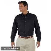 Men's Titan Long-sleeve Twill Button-down Shirt