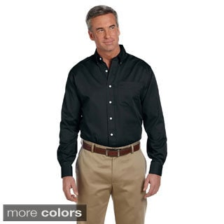 Men's Pima Advantage Twill Long Sleeve Shirt