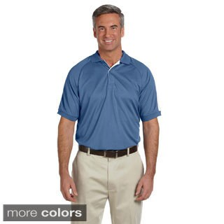 Men's Dri-Fast Advantage Colorblock Mesh Polo Shirt