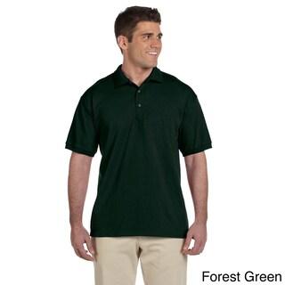 Gildan Men's Ultra Cotton Jersey Polo Shirt (5 options available)