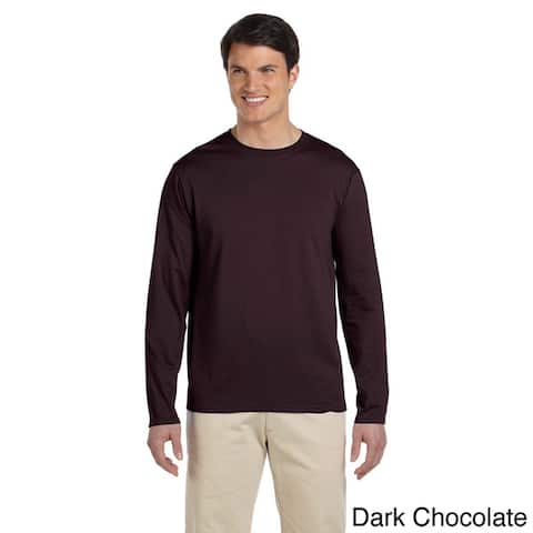Men's Softstyle Cotton Long Sleeve T-shirt