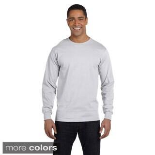 Men's Dry Blend Long Sleeve T-shirt (Option: 3xl) https://ak1.ostkcdn.com/images/products/9007930/Mens-Dry-Blend-Long-Sleeve-T-shirt-P16210903.jpg?_ostk_perf_=percv&impolicy=medium