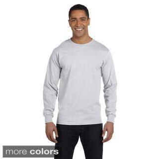 Men's Dry Blend Long Sleeve T-shirt|https://ak1.ostkcdn.com/images/products/9007930/Mens-Dry-Blend-Long-Sleeve-T-shirt-P16210903.jpg?impolicy=medium