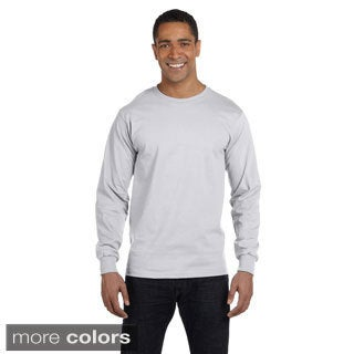 Gildan Men's Dry Blend Fabric Long Sleeve T-shirt