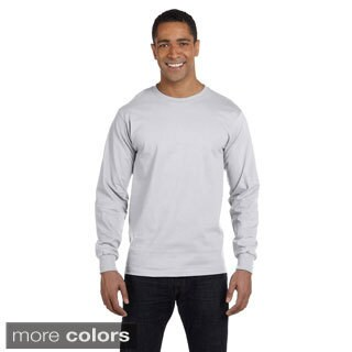 Men's Dry Blend Long Sleeve T-shirt (Option: Black)
