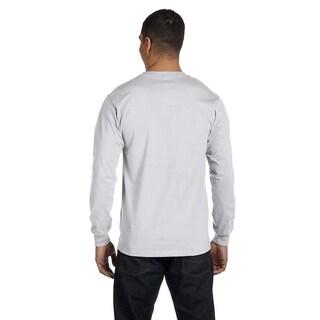 Gildan Men's Dry Blend Fabric Long Sleeve T-shirt (Option: 2XL,WHITE)