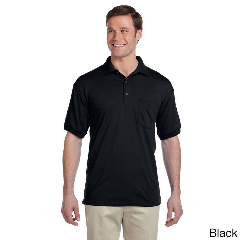 Gildan Mens Dry Blend Jersey Polo Shirt