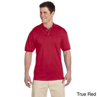 Men's Heavyweight Cotton Jersey Polo Shirt (More options available)