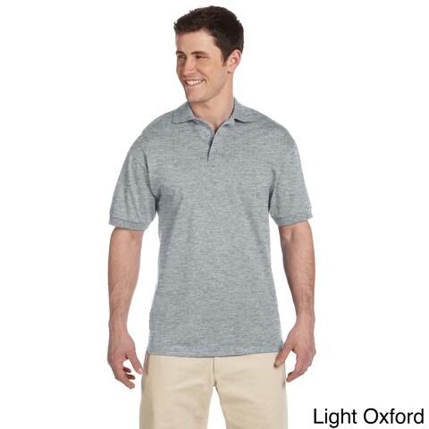 Men's Heavyweight Cotton Jersey Polo Shirt
