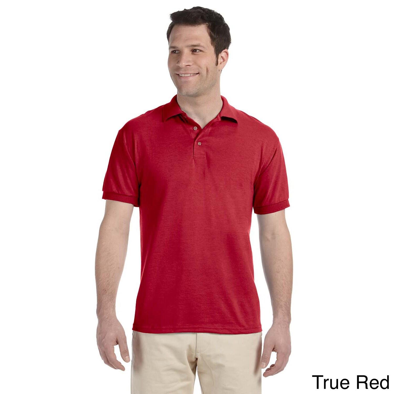 Mens Heavyweight Blend Jersey Polo Shirt