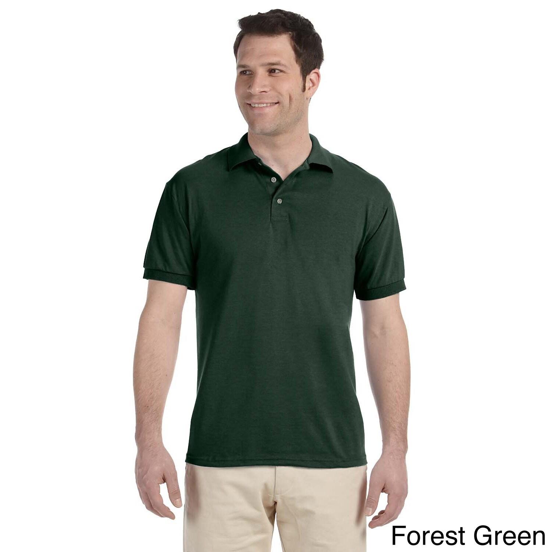 Jerzees Mens Heavyweight Blend Jersey Polo Shirt Green Size XXL