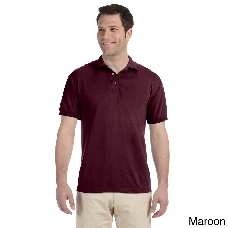 Jerzees Mens Heavyweight Blend Jersey Polo Shirt Brown Size XXL