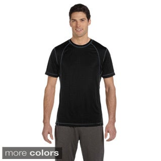 Men's Short Sleeve Interlock Pieced T-shirt