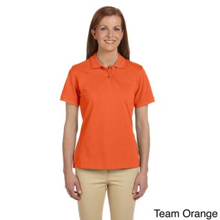 Ladies' 6 oz. Ringspun Cotton Piquu Short-Sleeve Polo (More options available)