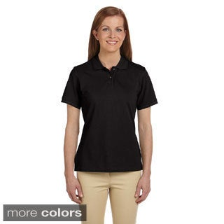 Ladies' 6 oz. Ringspun Cotton Piquu Short-Sleeve Polo