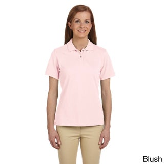 Ladies' 6 oz. Ringspun Cotton Piquu Short-Sleeve Polo (5 options available)