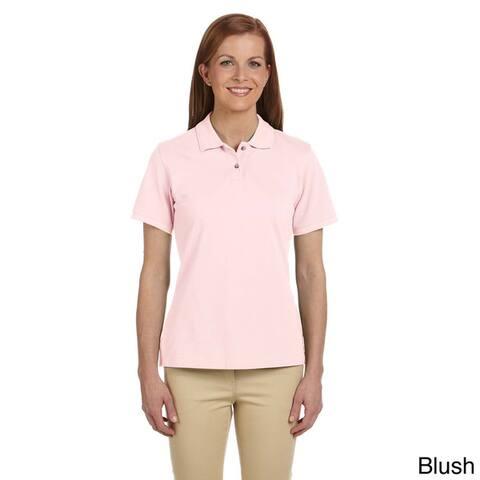 Ladies' 6 oz. Ringspun Cotton Piquu Short-Sleeve Polo