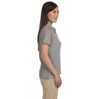Harriton Women's Blend-Tek Short Sleeve Polo Shirt