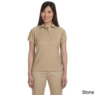 Harriton Women's Blend-Tek Short Sleeve Polo Shirt (More options available)