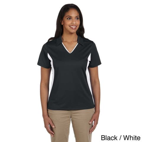 Ladies' Side Blocked Micro-Piquu Polo