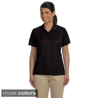 Ladies' 3.8 oz. Polytech Mesh Insert Polo (5 options available)
