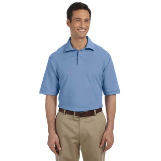 Jerzees Mens 6.5-ounce Cotton Pique Polo
