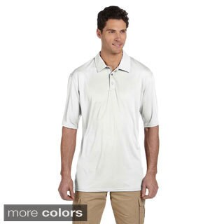Men's 4.1-ounce 100-percent Polyester Micro Pointelle Mesh Shirt