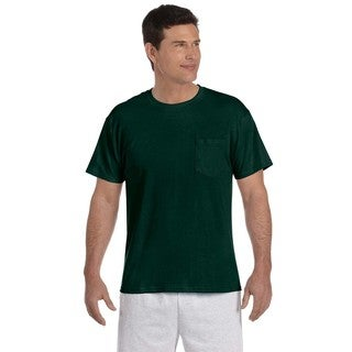 5.2-ounce 50/50 ComfortBlend EcoSmarti Pocket T-Shirt