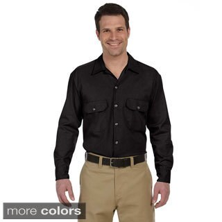 Men's 5.25-ounce Long-sleeve Work Shirt